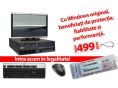 "PROMO sistem LENOVO + MONITOR 19"" HP + TASTATURA SI MOUSE BONUS + LICENTA WINDOWS 7"